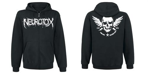 Neurotox - Skull, Kapuzenjacke