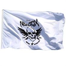 Neurotox - Logo, Fahne